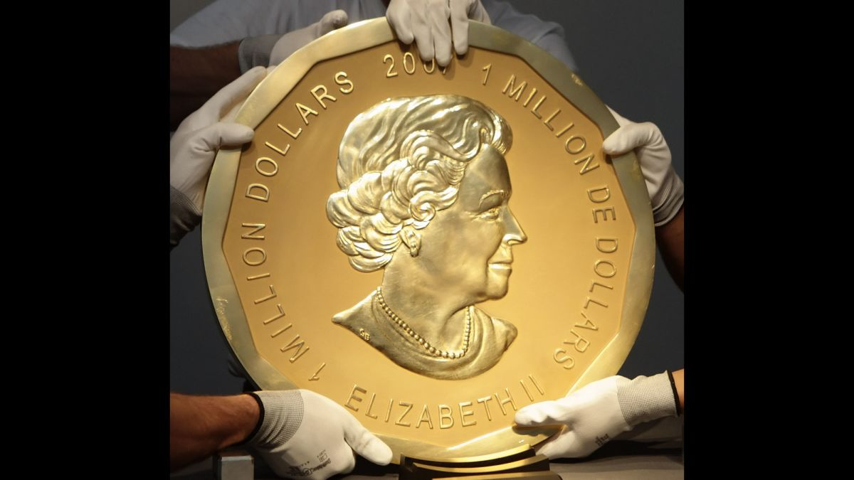A 200-lb gold coin worth more than $1 million is stolen - CNN