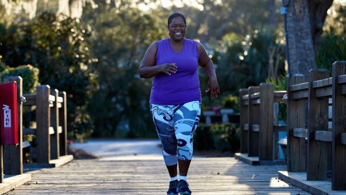 foto de Plus-size runner leads the way for overweight athletes - CNN