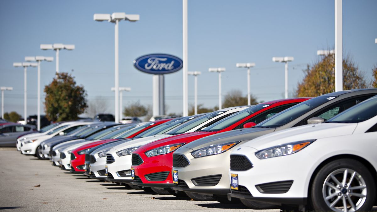 Ford recalling 58,000 Focus cars because of possible fuel