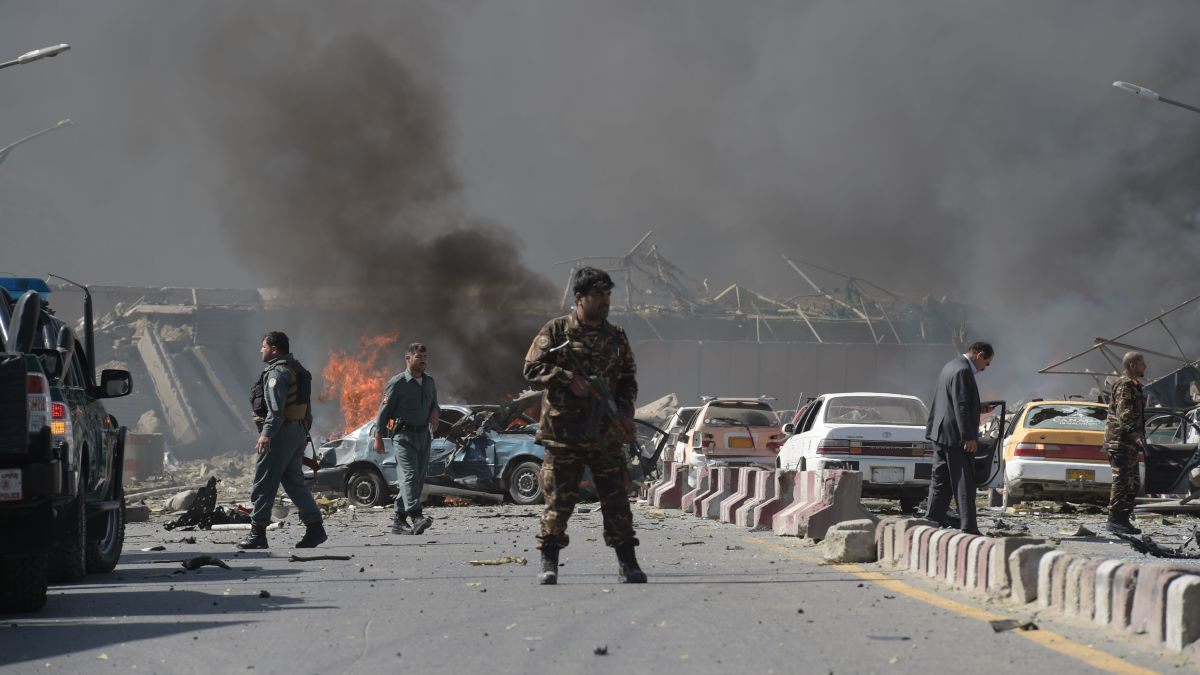 Kabul bombing: 90 killed in attack near diplomatic area in Afghanistan   CNN