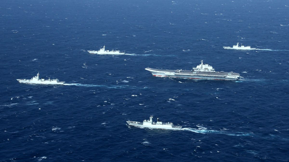China's navy expands reach: Ships in Baltic for drills with Russia - CNN