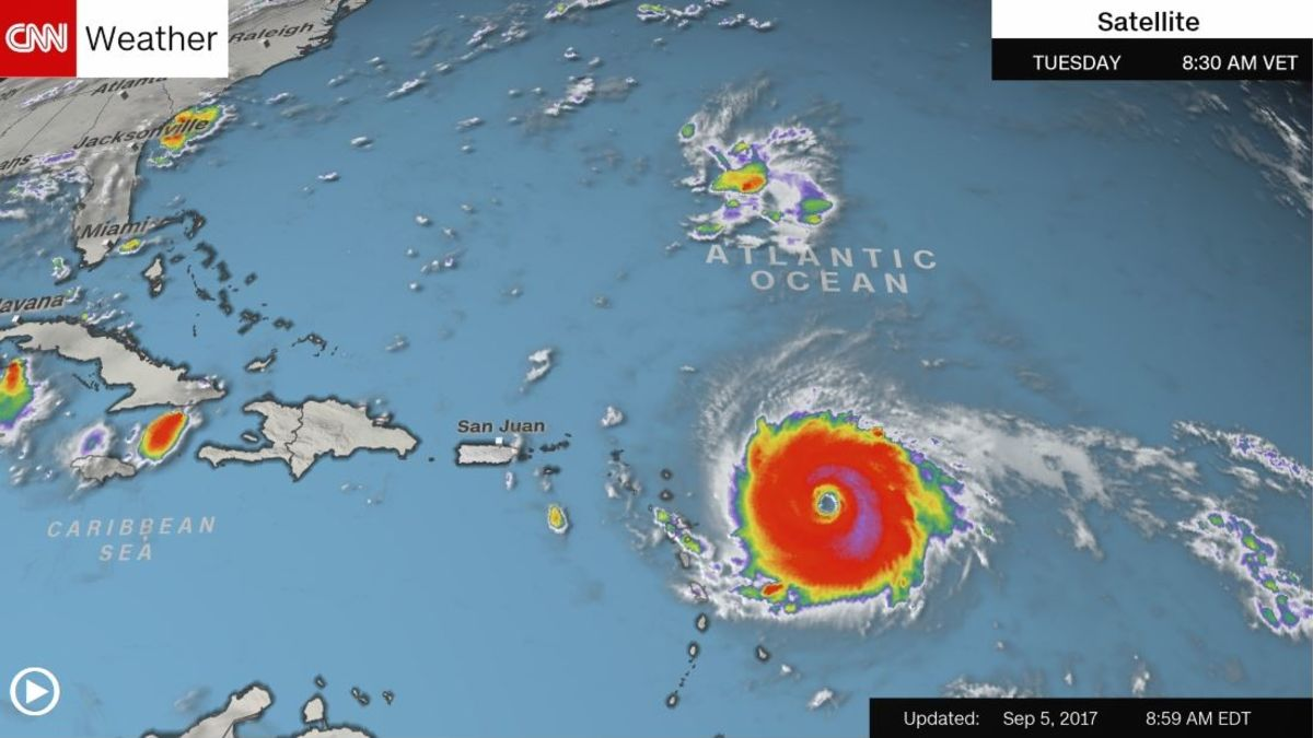 Caribbean islands under threat from Irma - CNN on weather in marco island florida, hurricane over florida, hurricanes in florida,