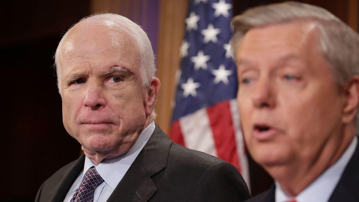 cnn.com - By Manu Raju, CNN Senior Congressional Correspondent  - Graham encouraged McCain to turn Trump-Russia dossier over to FBI