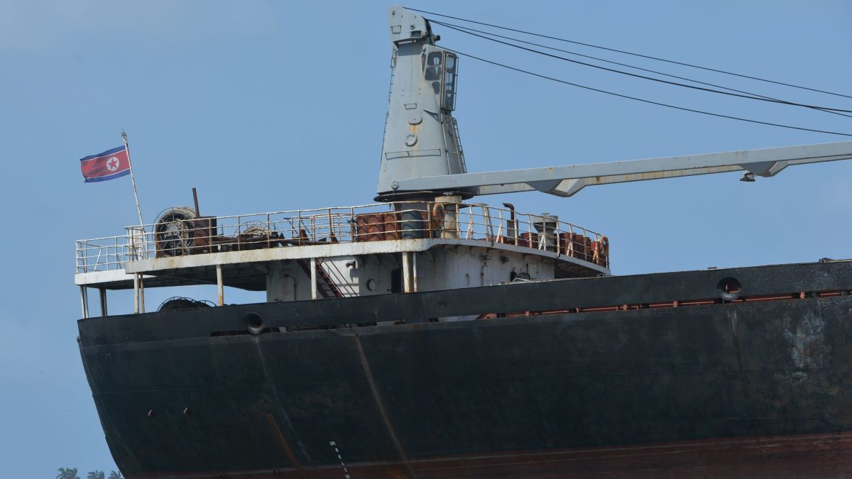 US seizes North Korean cargo ship, alleging sanctions violations