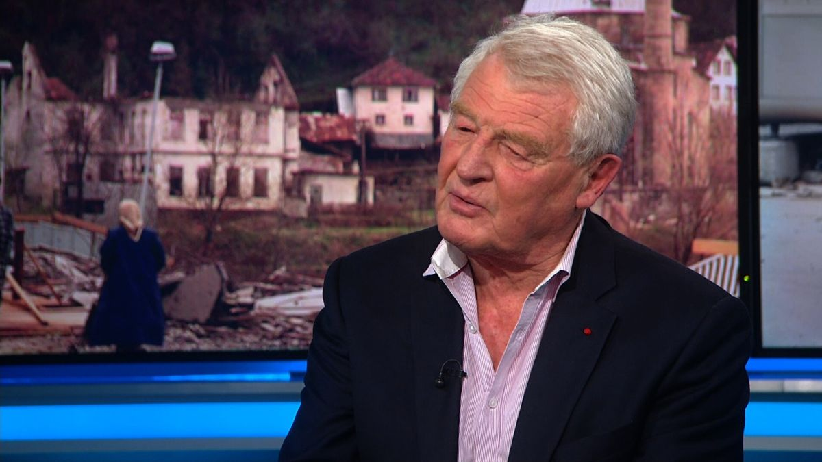 Paddy Ashdown, former Bosnia high representative and UK Liberal