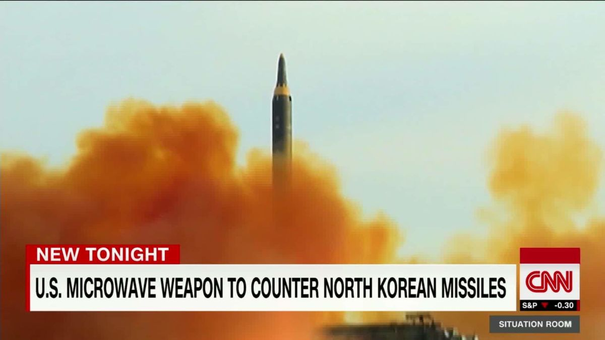 Air Force developing weapon that could disable North Korean