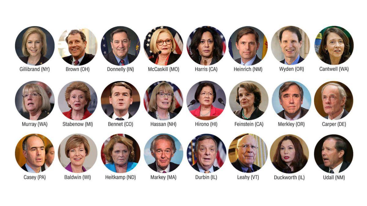Democratic Senators Call For >> Democratic Senators To Sen Al Franken Resign Cnnpolitics