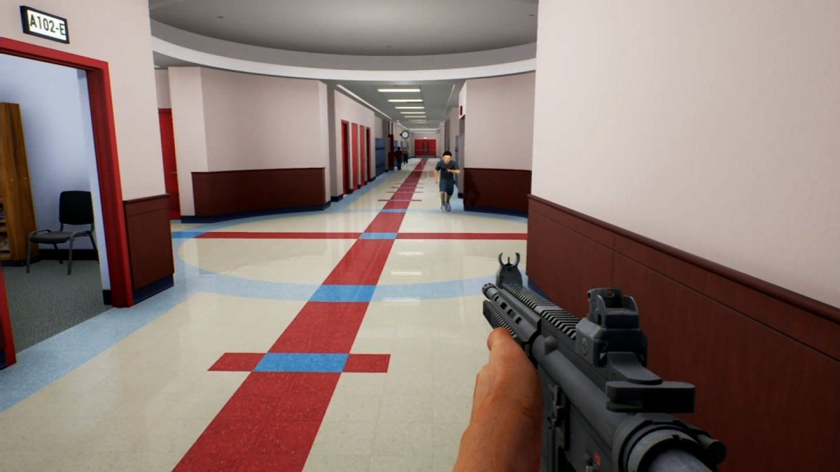Virtual reality puts teachers inside shooting