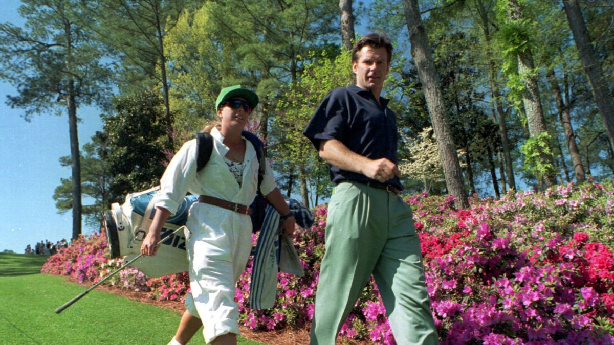 Fanny Sunesson: The female golf caddy that conquered Augusta