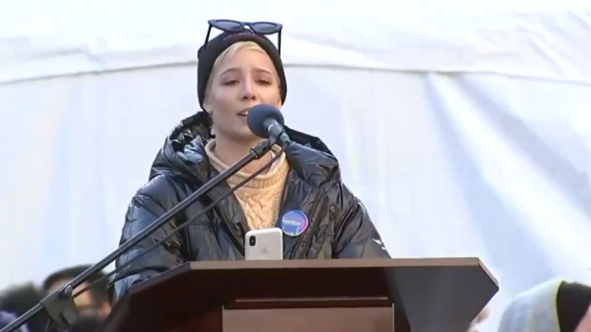 Halsey's Women's March speech moved people around the world