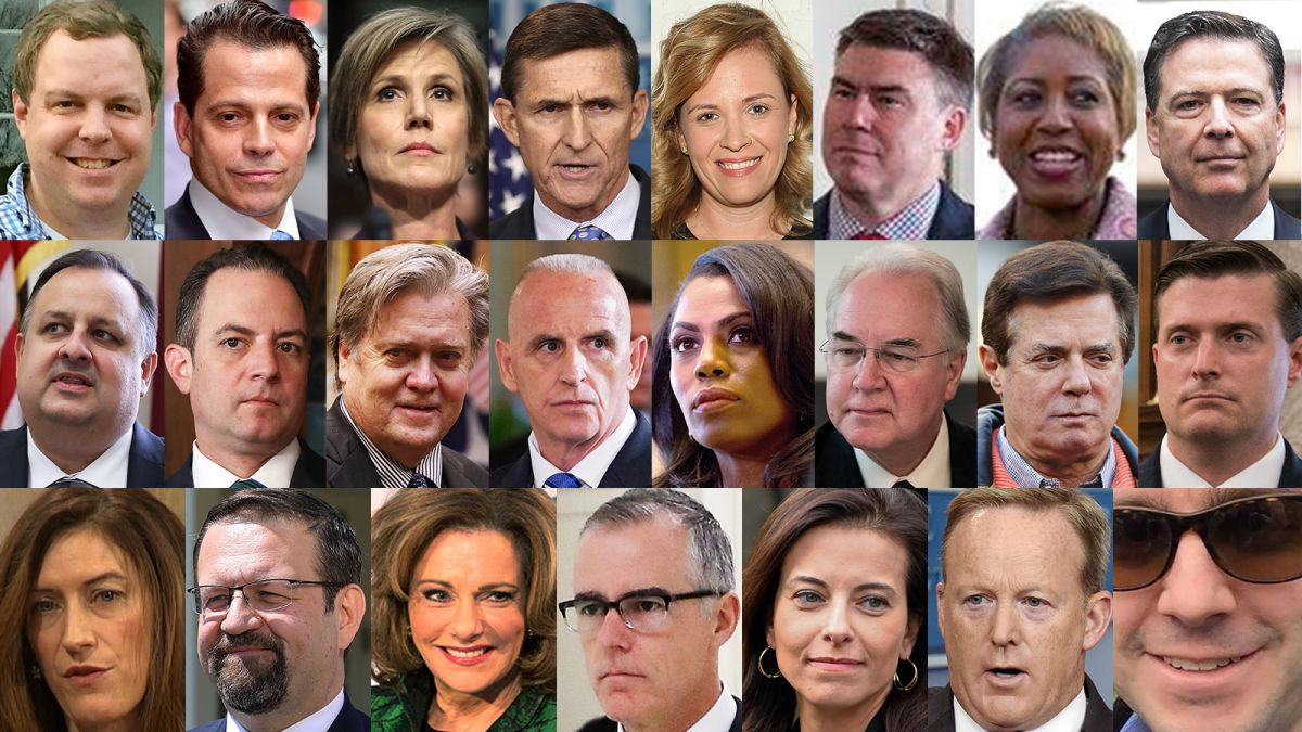 Image result for photos of fired trump staff