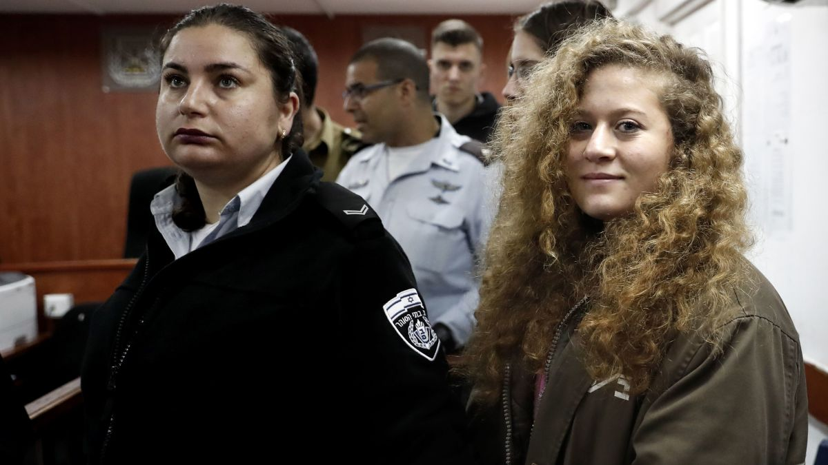 Ahed Tamimi, Palestinian teen protester, appears in court - CNN