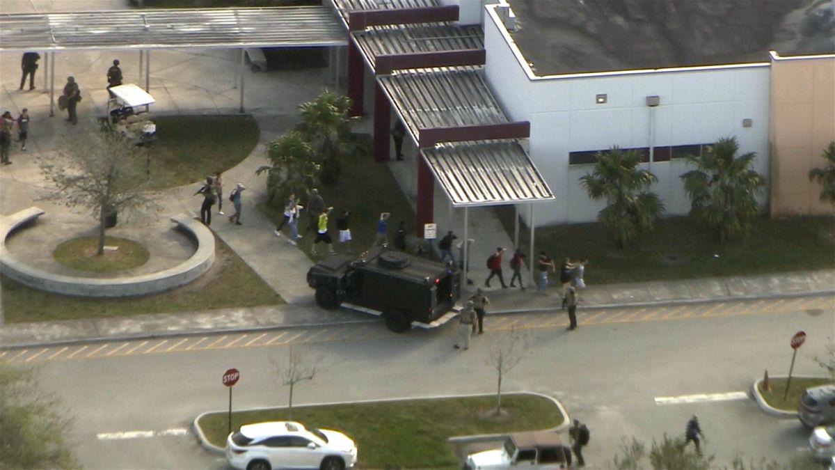 Florida school shooting: At least 17 dead - CNN