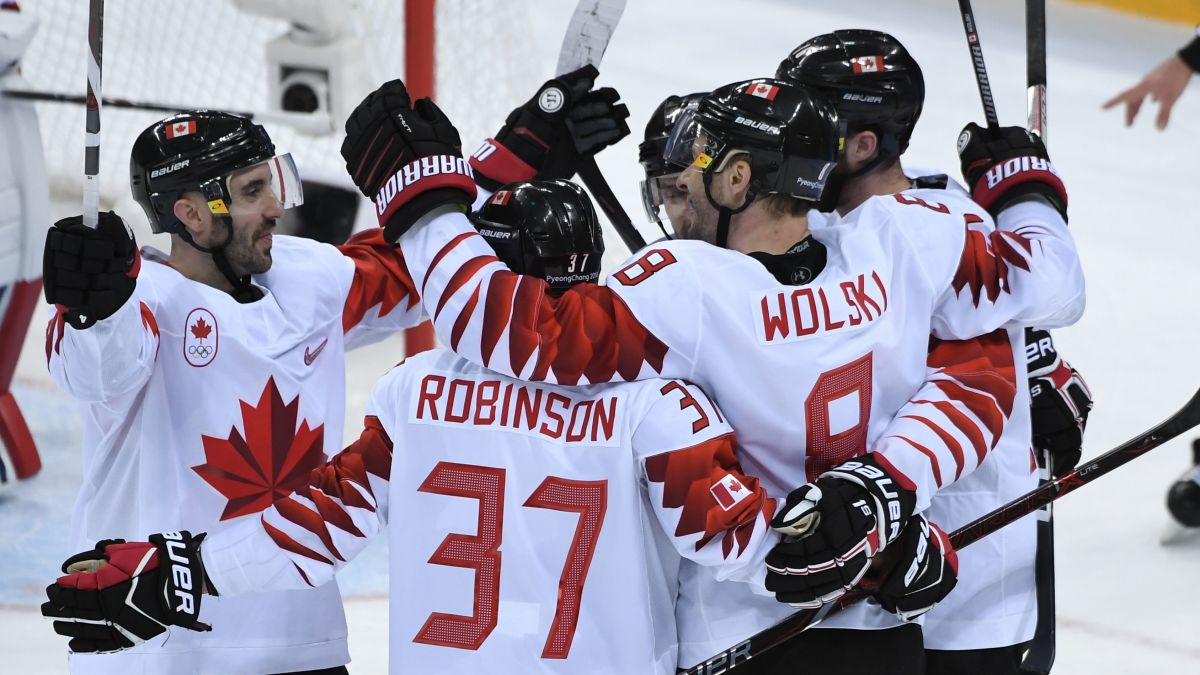 Canada Wins Olympic Ice Hockey Bronze Cnn