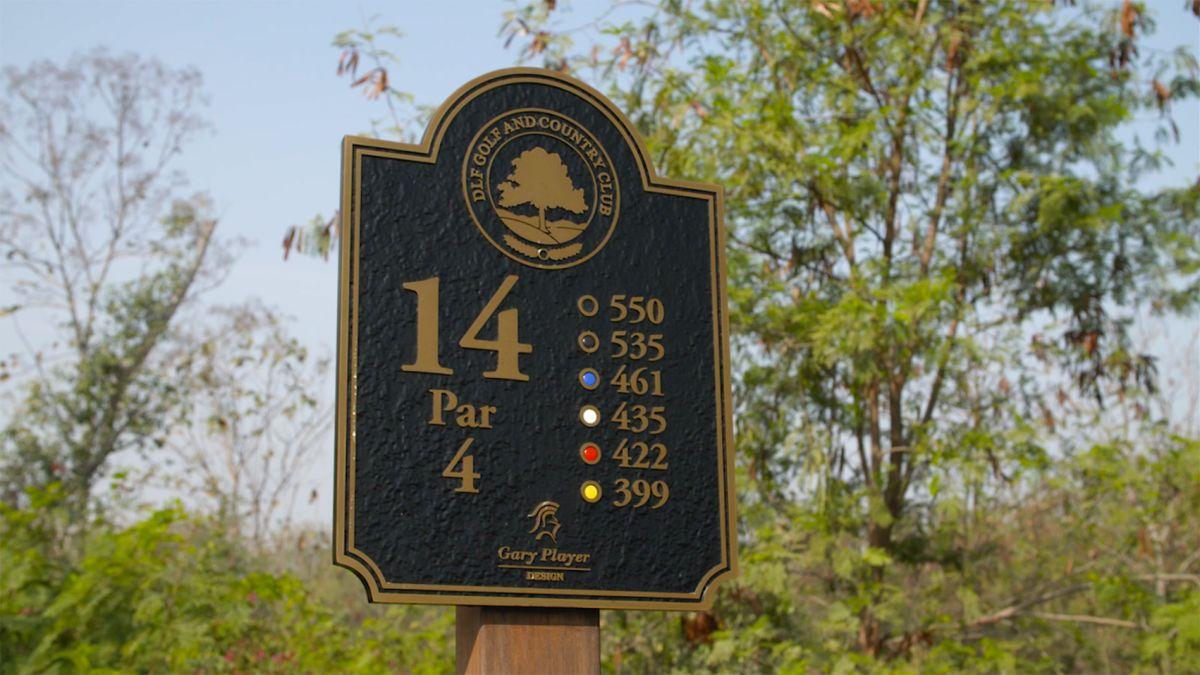 Golf's hardest holes: The 14th at DLF GCC