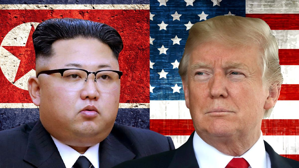 Image result for trump-kim jong un