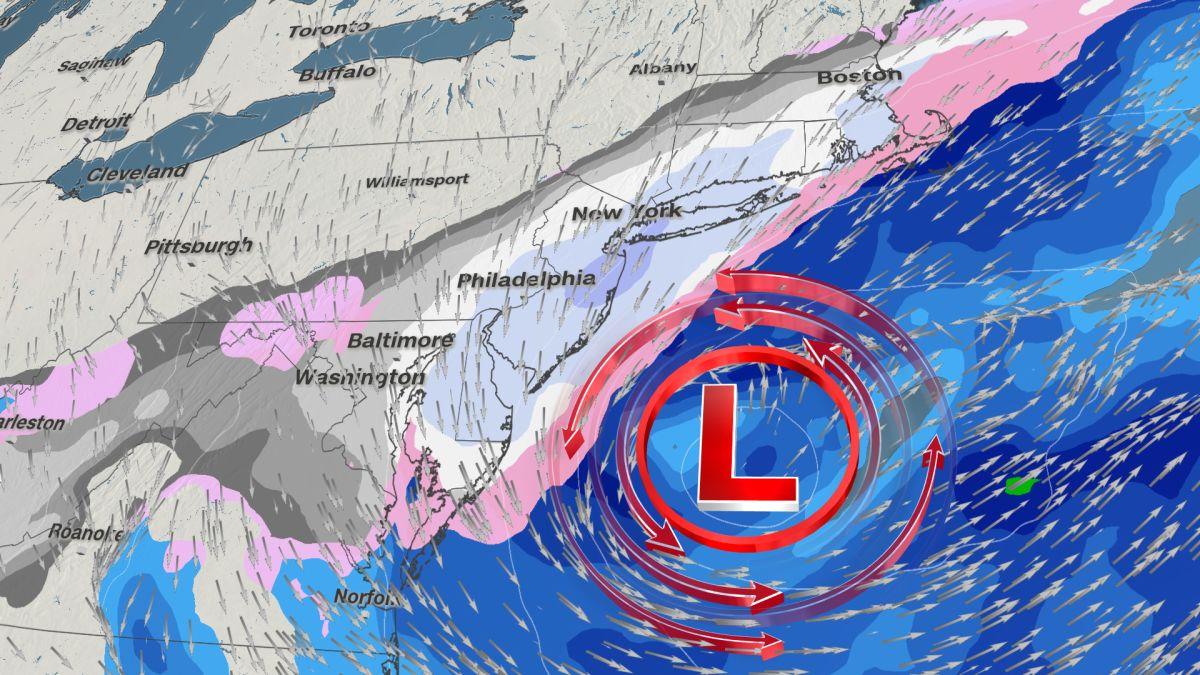 Nor'easter closes schools, delays flights as record spring snow