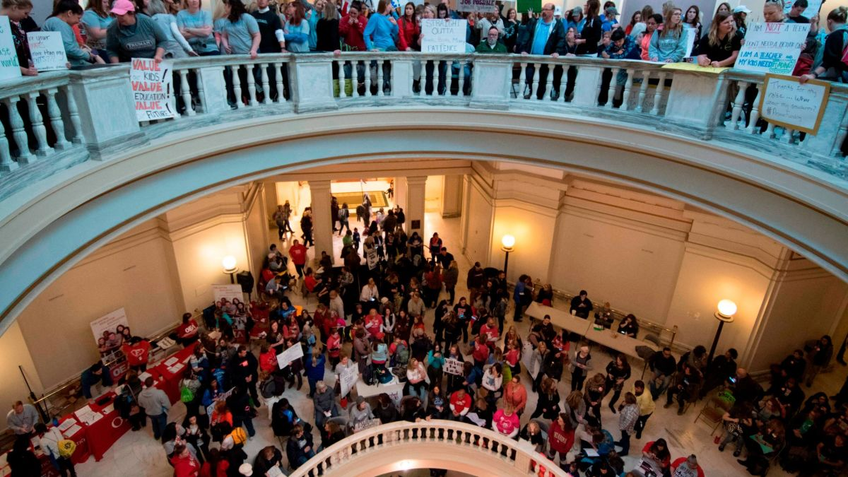 cnn.com - By David Williams, CNN - 16 Oklahoma educators elected to office on Tuesday