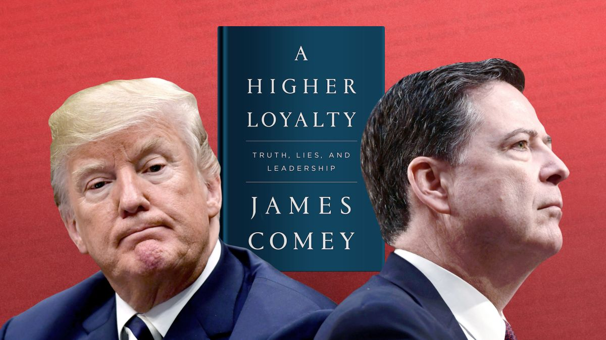 Image result for comey vs trump