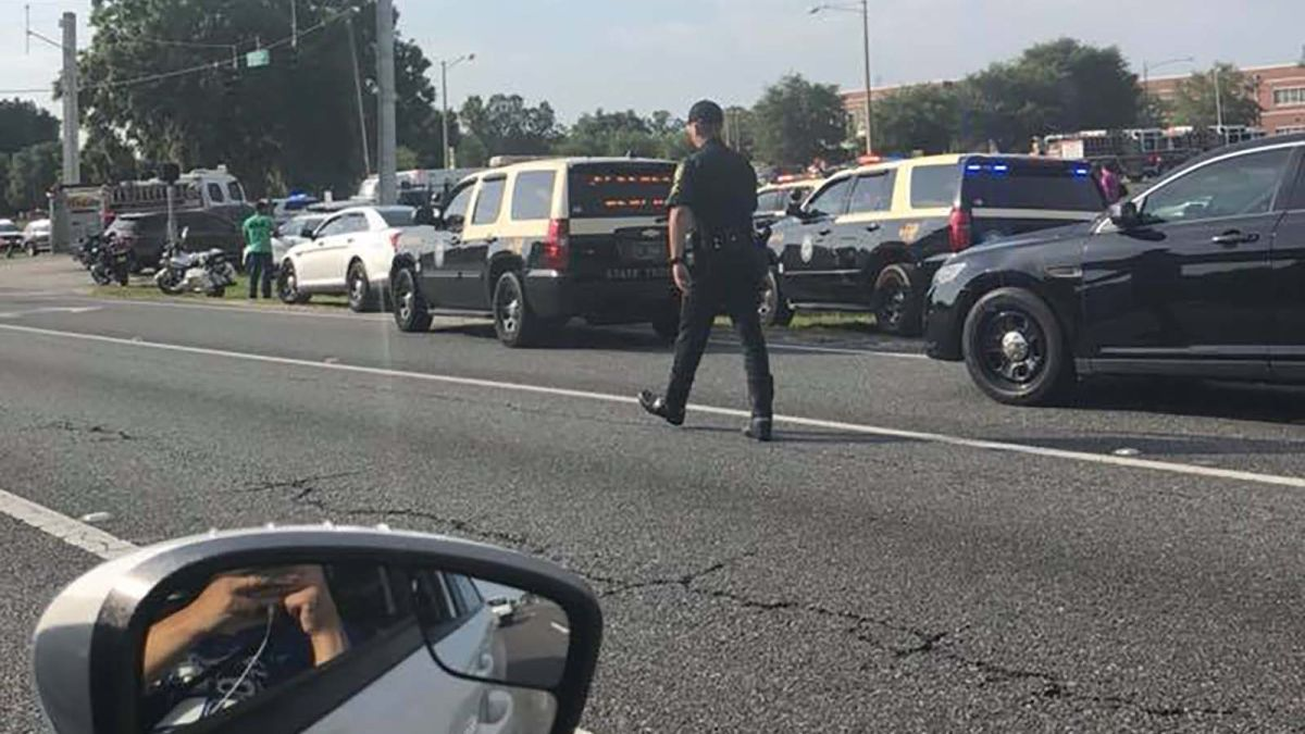 Ocala, Florida, shooting: Student wounded at Forest High ... on