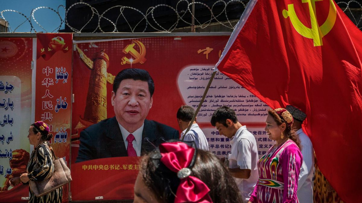 Chinese minority Uyghurs forced to welcome Communist Party into