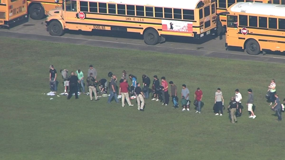 Witnesses in Texas' Santa Fe High School shooting describe