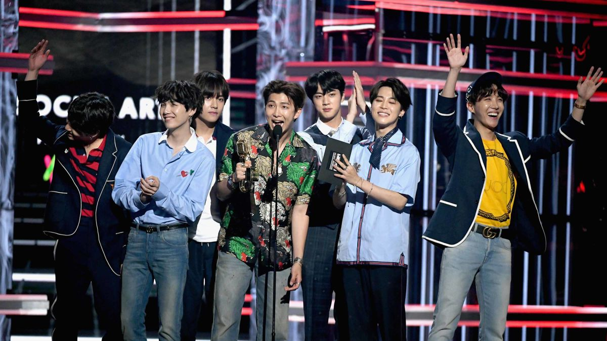 Boy band BTS becomes first K-pop group to top US Billboard
