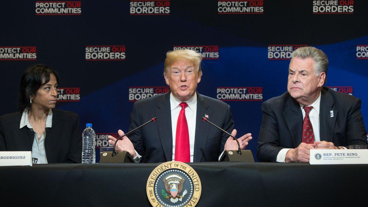 Image result for Trump whips up immigration storm over children