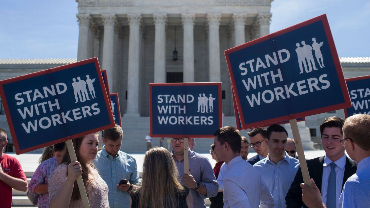 Image result for scotus labor unions
