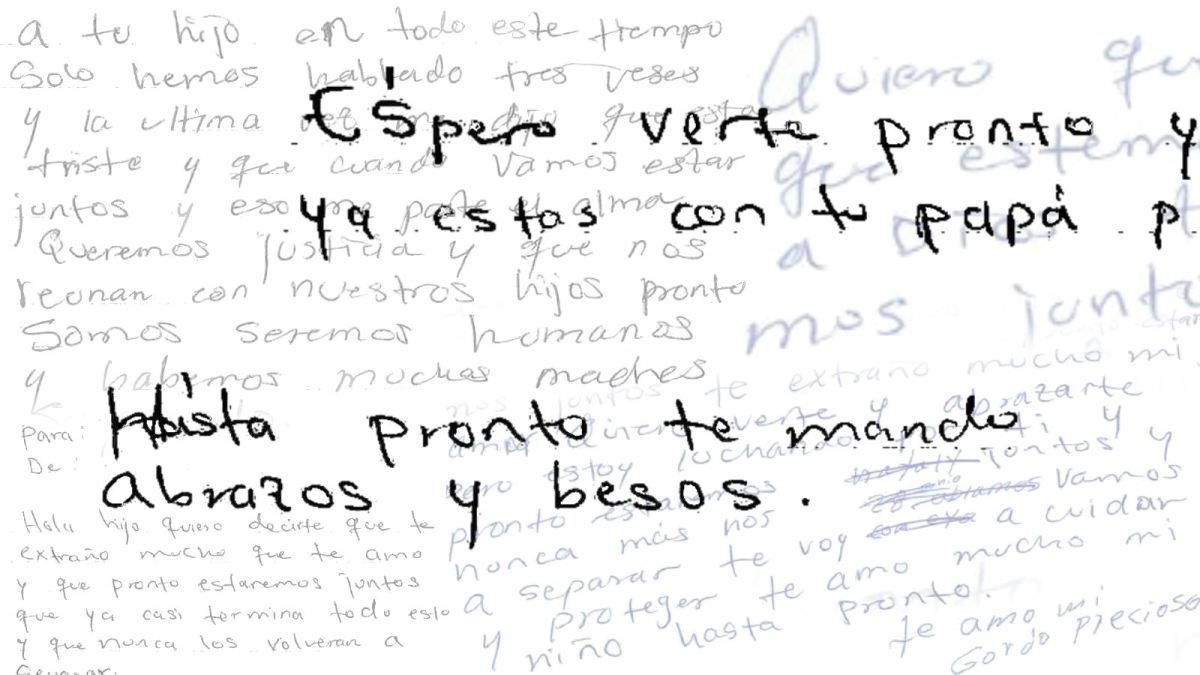 Letters from inside an immigration detention facility - CNN