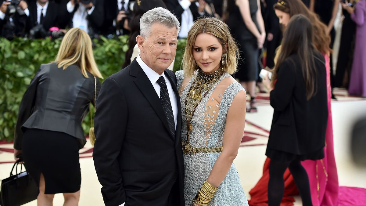 Katharine Mcphee Marries David Foster In London Cnn