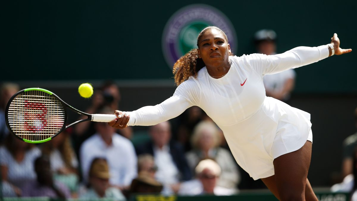 Serena Williams reaches Wimbledon final to continue fairytale comeback - CNN