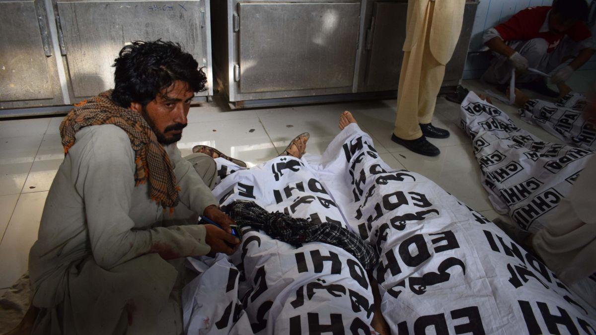 cnn.com - By Syed Ali Shah, Sophie Saifi and Judith Vonberg - Dozens killed in Pakistan's deadliest terror strike this year
