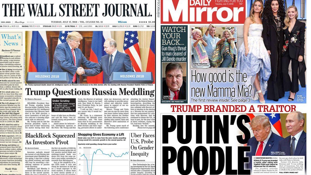 cnn.com - By James Masters, CNN - Putin's poodle:' Newspapers react to the Trump-Putin meeting