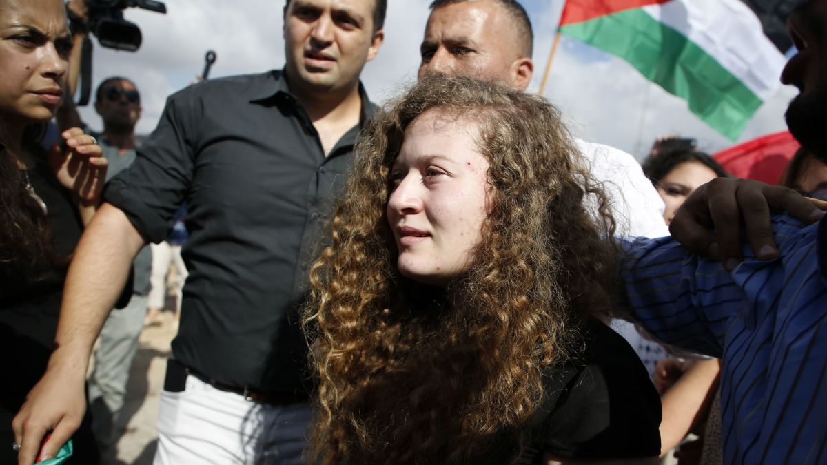Ahed Tamimi released from Israeli prison - CNN