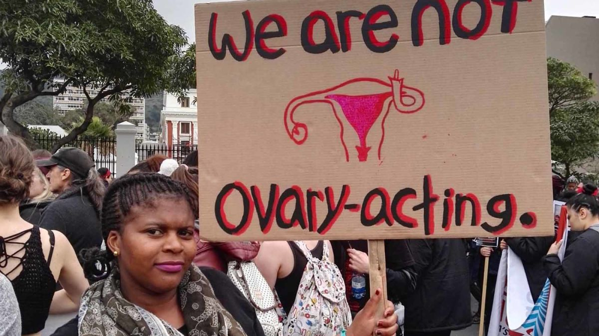 South Africa women's protest: Women march against gender