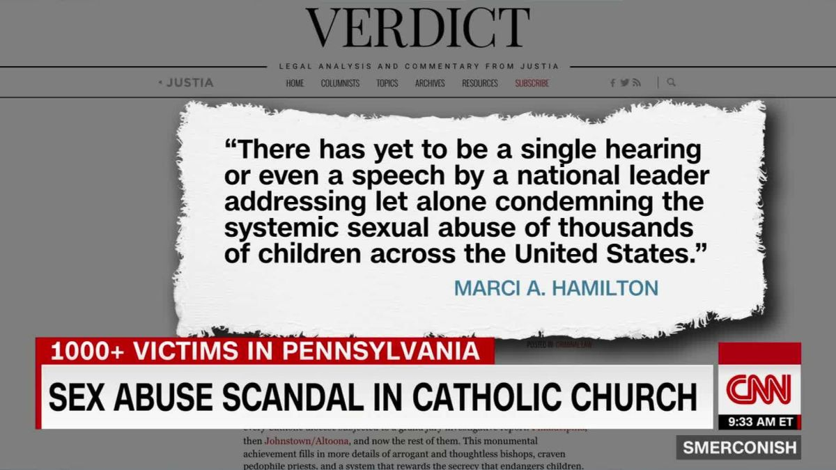 Sex abuse scandal in Catholic Church
