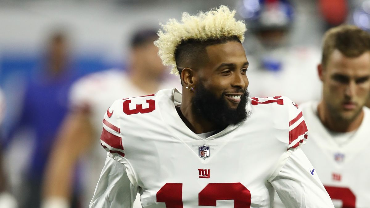 brand new ec3c4 57adb Odell Beckham Jr. is heading to the Browns - CNN