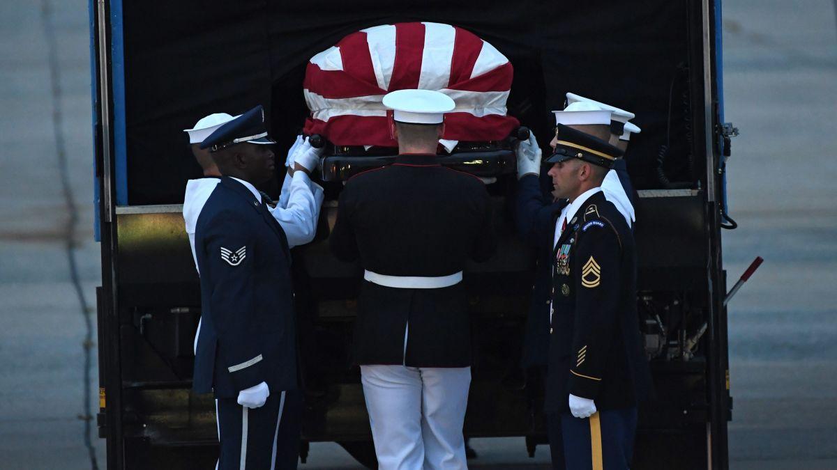 Trump ignores lessons from John McCain's life - CNNPolitics
