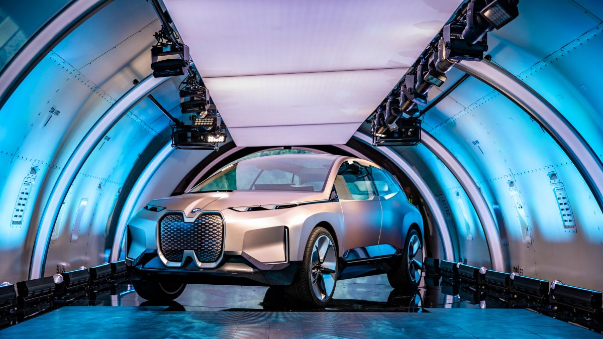 2021 BMW INext Is Fully Autonomous SUV >> Bmw Unveils Self Driving Electric Car Planned For 2021 Cnn