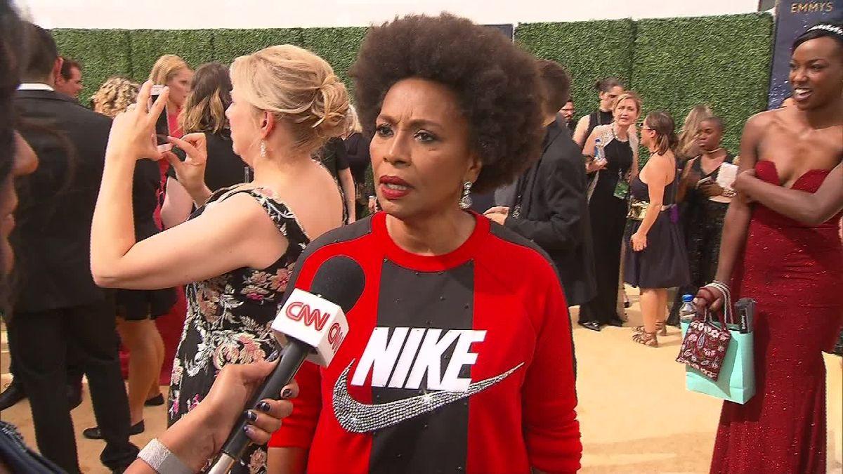 cnn.com - By Eric Levenson, CNN  - Black-ish' star Jenifer Lewis wore Nike on the red carpet to support Colin Kaepernick