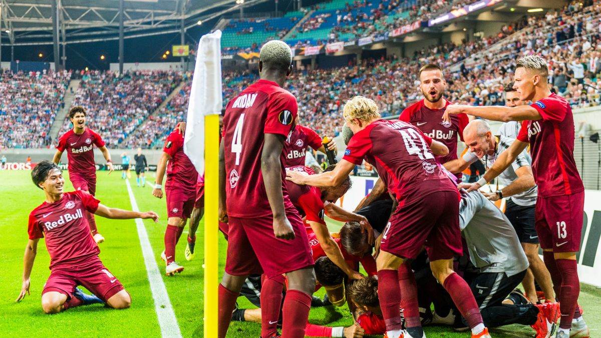 Europa League Red Bull Salzburg Has Too Much Fizz For Rb Leipzig Cnn