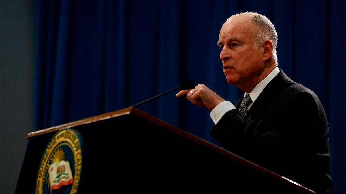 California Governor Pardon List 2020.Outgoing California Gov Jerry Brown Issues Christmas Eve