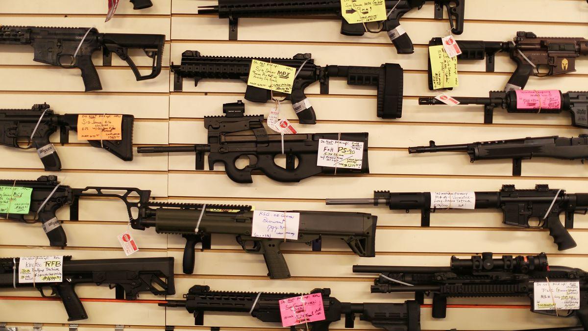 Gun deaths in America reach highest level in nearly 40 years, CDC