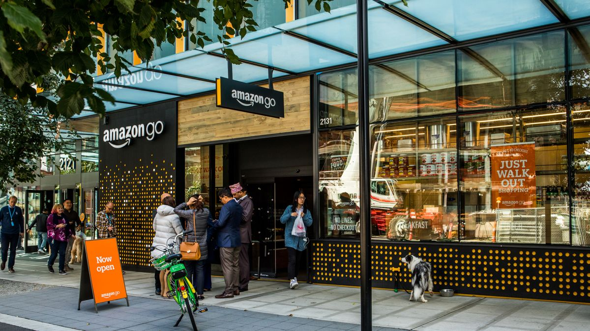 Amazon Go No Cashiers Hundreds Of Cameras And Lots Of Data Cnn