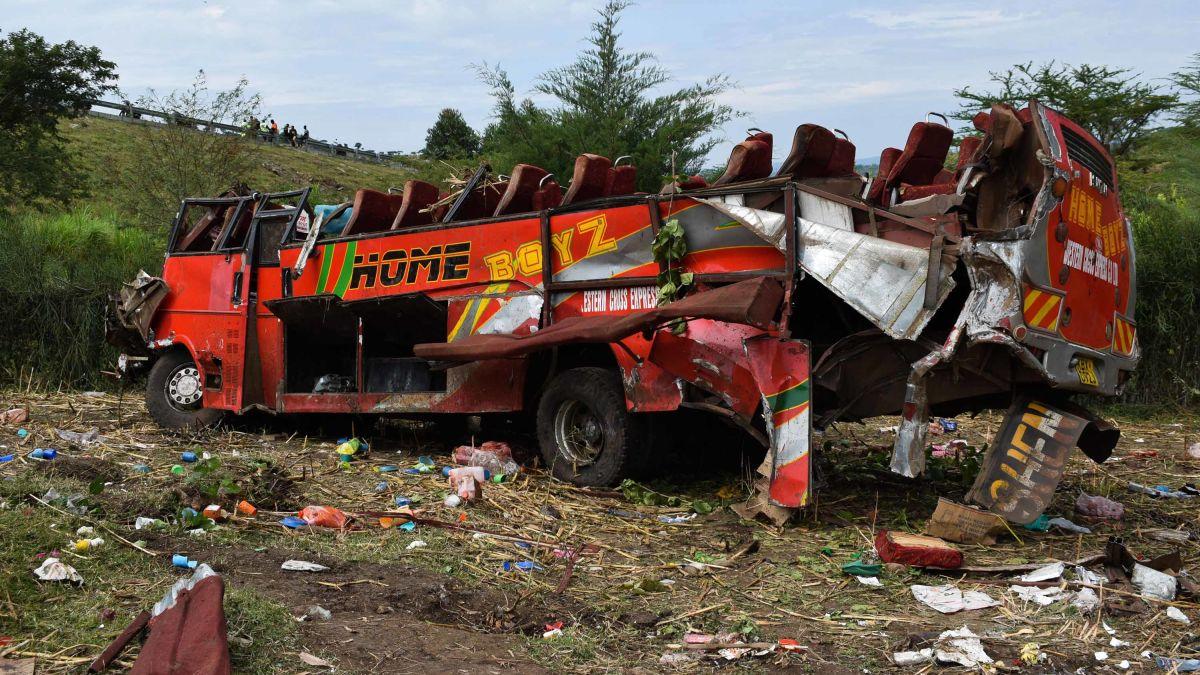 Kenya bus crash: At least 50 people killed - CNN