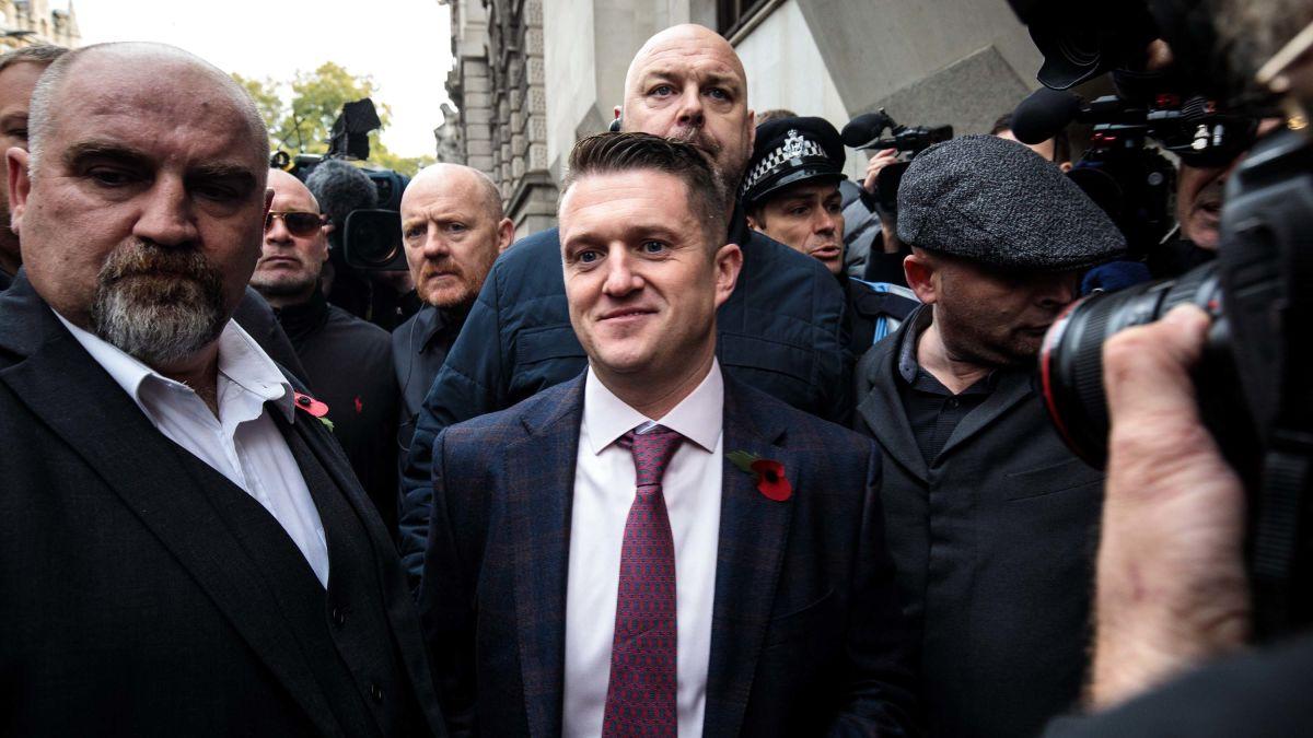 Tommy Robinson appointed as UKIP adviser - CNN