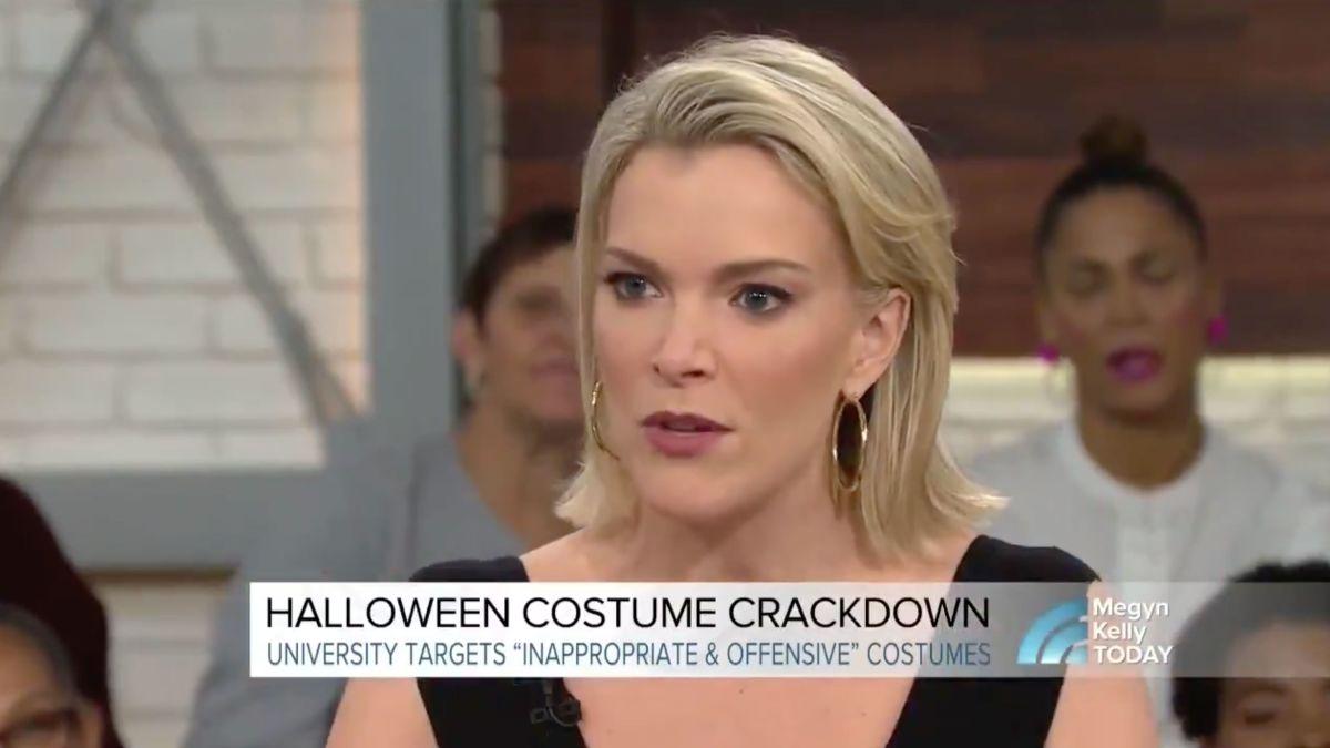 Today Halloween Costumes 2020 Megyan Kelly Megyn Kelly takes heat for defending blackface Halloween costumes
