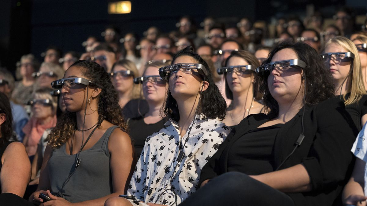 Smart glasses for the hard of hearing is changing theater in London