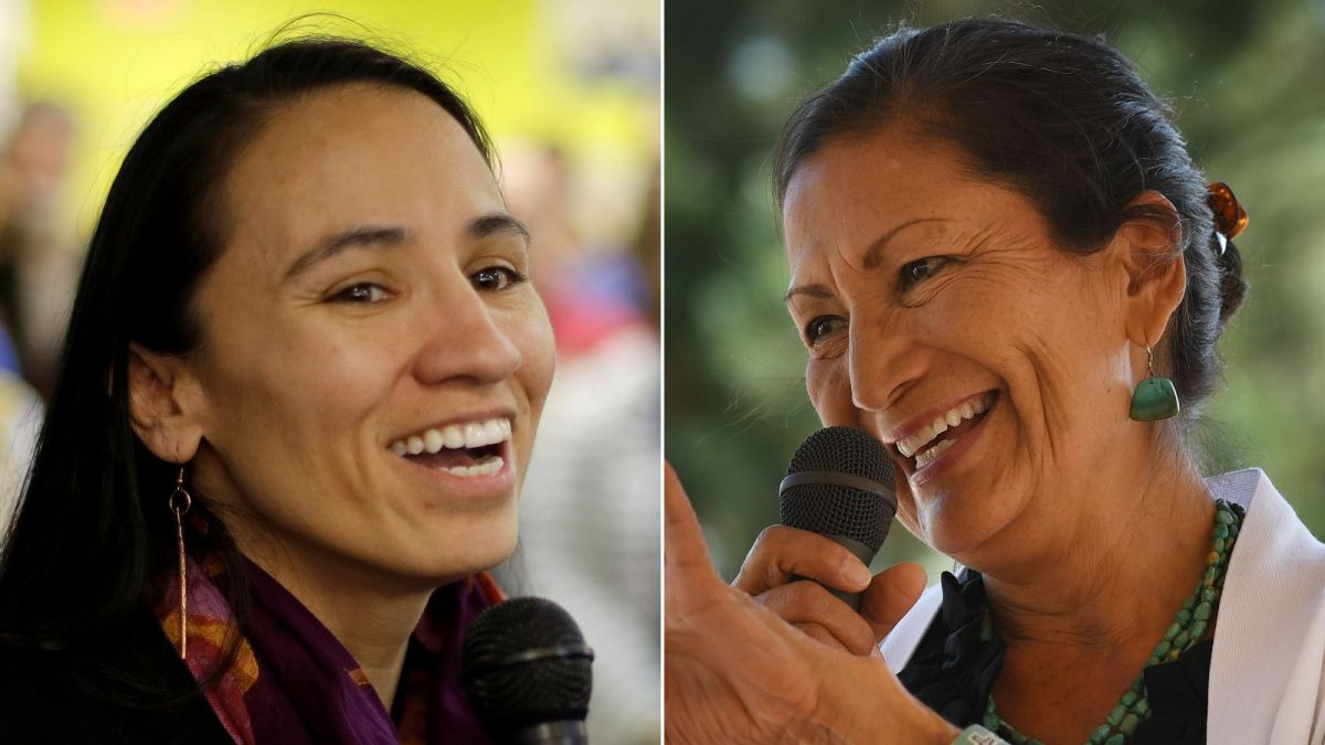 First Native American Women Elected To Congress Sharice Davids And Deb Haaland Cnnpolitics